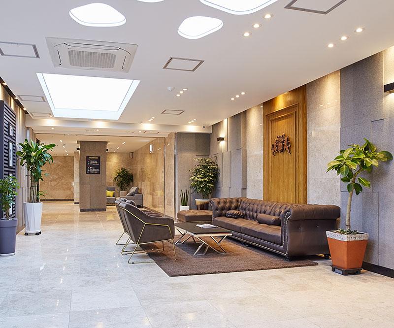 호텔 로비 2